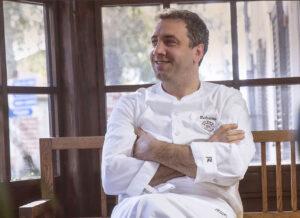 Chef Roberto Rossi del Ristorante Stellato Silene a Pescina in Maremma