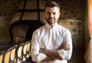 Chef Enrico Bartolini de La Trattoria a Castiglione della Pescaia in Maremma