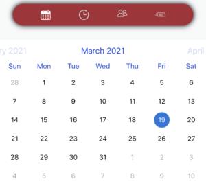 Calendario per prenotare una visita in cantina in Maremma